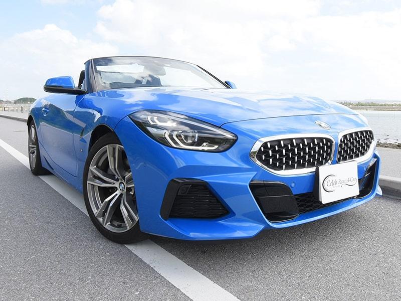 BMW Z4 現行 Blue